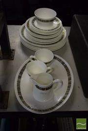 Sale 8518 - Lot 2340 - Royal Tuscan Part Dinner Service