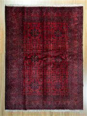 Sale 8625C - Lot 11 - Afghan Khal Mohamadi 200cm x 150cm