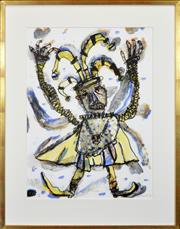 Sale 8286 - Lot 548 - David Larwill (1956 - 2011) - Rigeletto, 1988 75.5 x 55cm