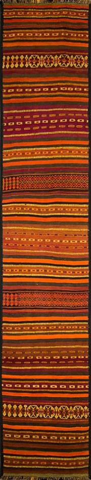 Sale 8307A - Lot 30 - Persian Kilim Runner 350cm x 70cm RRP $500