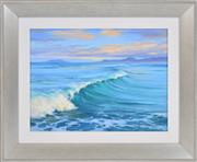 Sale 8382 - Lot 549 - Robyn Collier (1949 - ) - Incoming Swell 40 x 30cm