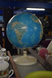 Sale 8396C - Lot 45 - Vintage Korean Globe of The World