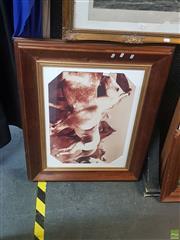 Sale 8595 - Lot 2074 - Timber Framed Horses Print