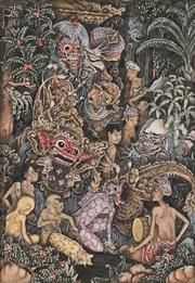 Sale 8927 - Lot 2035 - Balinese School Keliki Village Life and Story, Near Ubud watercolour, 15x12cm,signed Jwyn Saplgar, lower right -