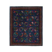 Sale 9061C - Lot 20 - Afghan Revival Turkoman Rug, 245x295cm, Handspun Wool$4,500