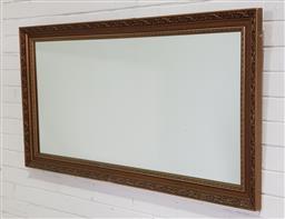 Sale 9191 - Lot 1050 - Gilt rectangular mirror ( 103 x 70cm)