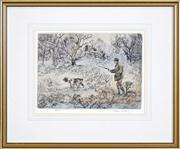 Sale 8441T - Lot 2002 - Henry Wilkinson (1921 - 2011) - On the Hunt 25 x 34cm