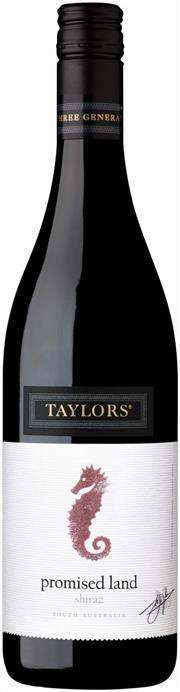 Sale 8528W - Lot 11 - 6x 2015 Taylors The Promised Land Shiraz. A soft and fleshy Shiraz boasting a lively palate of juicy red berry fruits, plum and...