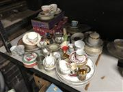 Sale 8819 - Lot 2528 - Group Lot of Sundries incl Crystal Ceramics etc