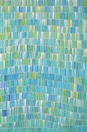 Sale 8866H - Lot 58 - Jeannie Mills Pwerle (1965 - ) - Bush Yam 160 x 108cm