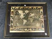 Sale 9045 - Lot 2064 - An illuminated Map print on glass After Moses Pitt 1681. -