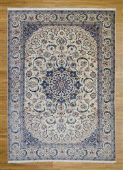 Sale 8576C - Lot 45 - Persian Nain Silk & Wool 347cm x 249cm