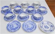 Sale 8595A - Lot 73 - A quantity of Spode Italian Garden tea bowls and saucers, together with associated cups and saucers
