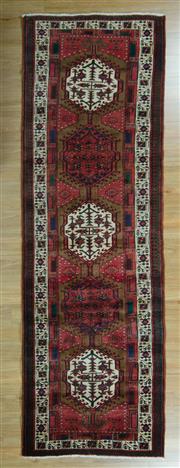 Sale 8625C - Lot 14 - Persian Hamadan 330cm x 100cm