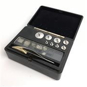 Sale 8795K - Lot 201 - A Griffin and Tatlock Ltd. bakelite set of metric scales