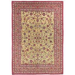 Sale 9031 - Lot 1026 - A Cadrys Vintage Persian Kashan Carpet in handspun wool, Circa 1960, 275cm x 390cm