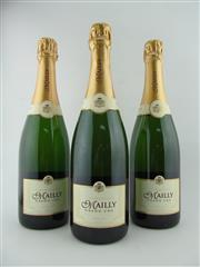 Sale 8411 - Lot 638 - 3x NV Mailly Delice Grand Cru Brut, Champagne