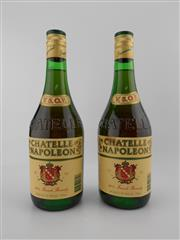 Sale 8498 - Lot 1991 - 2x Chatelle Napoleon VSOP French Brandy