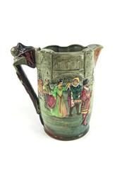 Sale 8545N - Lot 1 - Royal Doulton Loving Jug The Tower of London, 108/500 (H: 26cm)