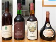 Sale 8595A - Lot 74 - Four bottles of vintage port including; Gnadenfrei Estate 1st Anniversary Port, 1980 #118, A Southern Vales Vintage Port, 1975, A Dr...