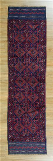 Sale 8625C - Lot 15 - Persian Baluchi Runner 253cm x 63cm
