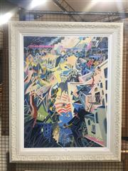 Sale 8751 - Lot 2055 - Dr Seuss Cat Detective in the Wrong Part of Town serigraph, ed. 399/850 100 x 80.5cm, signed in print (certificate verso) -