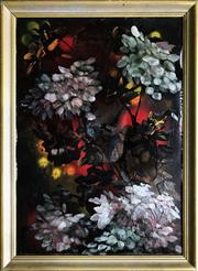Sale 8964 - Lot 2035 - Artist Unknown Midnight Still Life oil on canvas, 77 x 57cm (frame) unsigned