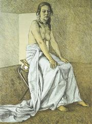 Sale 9032A - Lot 5003 - Brian Dunlop (1938 - 2009) - Untitled,1985 60 x 46 cm (frame: 88 x 71 x 3 cm)