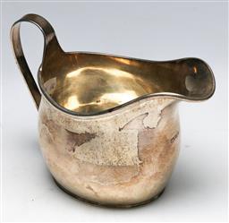 Sale 9138 - Lot 35 - Australian Sterling Silver Milk Jug, WM Drummond And Co Melbourne (H: 10cm) Wt 172g