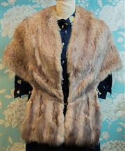 Sale 8448A - Lot 67 - Stunning 1940s Hollywood style blonde/grey Mink stole Condition: vintage very good Size: One size fits most
