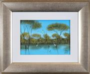 Sale 8459 - Lot 501 - Kym Hart (1965 - ) - Waterbirds 17 x 12cm