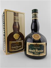 Sale 8498 - Lot 1992 - 1x Creme de Grand Marnier Liqueur, France - old bottling in box