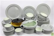 Sale 8626 - Lot 60 - Goedewaagen, Gouda Dinnerwares with a Villeroy & Boch Lidded Dish