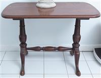 Sale 8934H - Lot 60 - A small cedar occasional table, height 52cm x Width 74cm x Depth 43cm