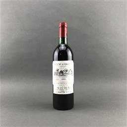 Sale 9120 - Lot 1070 - 1982 Chateau dAngludet, Cru Bourgeois Exceptionnal, Margaux - base of neck