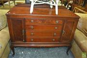 Sale 8390 - Lot 1657 - Timber Sideboard