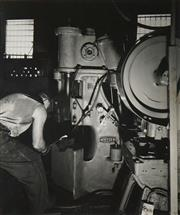 Sale 8592A - Lot 5056 - Max Dupain (1911 - 1992) - Otto Fitzpatrick Forging Factory 23.5 x 19.5cm