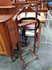 Sale 8570 - Lot 1052 - Timber Gents Valet