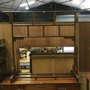 Sale 8643 - Lot 1012 - Japanese Timber Rack