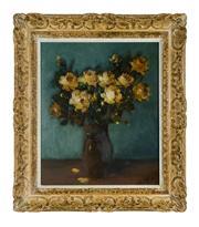 Sale 8660A - Lot 3 - Joris Bruyne, Belgium (1896-1965) - Still Life 49 x 40cm