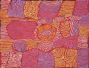 Sale 8696 - Lot 508 - Maisie Campbell Napaltjarri (1958 - ) - Womens Ceremony 76 x 98cm