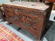 Sale 8760 - Lot 1037 - Oriental Camphorwood Trunk