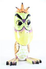 Sale 8985 - Lot 55 - A handpainted bird figure by Lorna Bailey (H27cm)