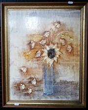 Sale 9058 - Lot 2035 - Artist Unknown - Still Life frame: 60 x 49 cm
