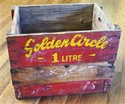 Sale 8320 - Lot 904 - Golden Circle fruitbox - 1 litre pineapple drinks