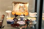Sale 8360 - Lot 78 - Doulton Flambe Dish With Other Ceramics Incl Wedgwood Jasper Ware