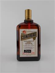 Sale 8498 - Lot 1994 - 1x Cointreau Liqueur, France - 1000ml, old bottling