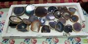 Sale 8589 - Lot 1066 - Tray of Polished Agate Geodes