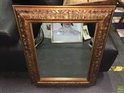 Sale 8622 - Lot 2191 - Gilt Framed Decorative Mirror