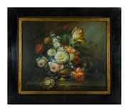 Sale 8660A - Lot 39 - European school, possibly Dutch - Still Life with Tulips 46 x 56cm
